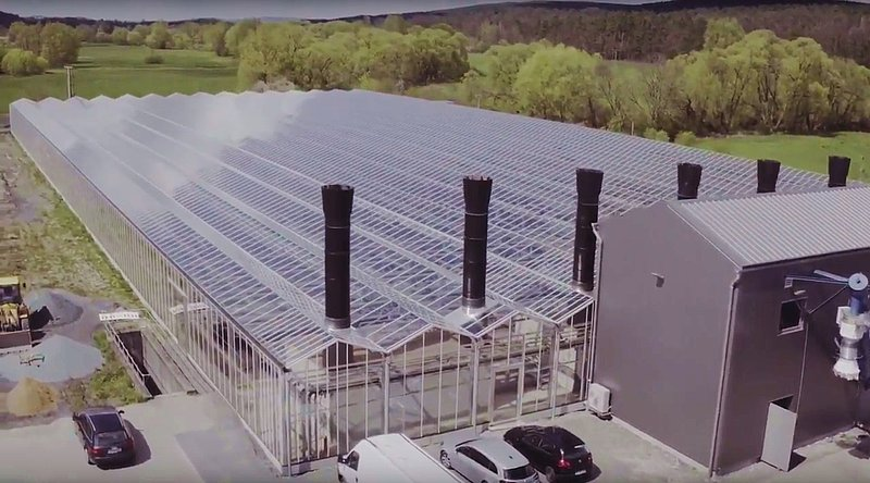 Largest Solar Sewage Sludge Drying Site In Southern