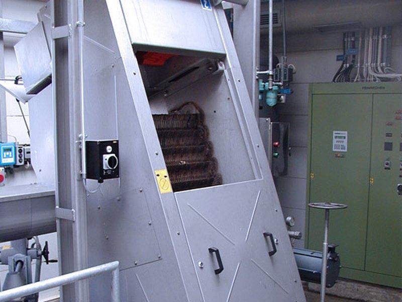 Huber griglia fine step screen ssv huber technology srl for B b srl milano